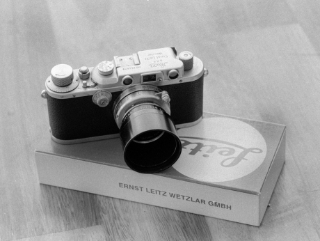My Leica IIIa circa 1937 with a Leitz Summar 2/5cm lens